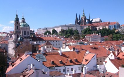 Prague castle area consists of