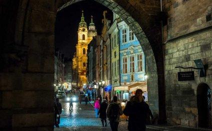Night photos of Prague: