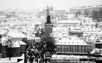 Prague in January