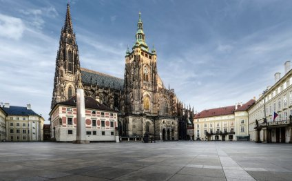 Prague Castle was most likely