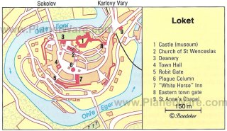 Loket Map - Tourist Attractions