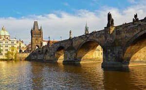 Package holiday to Prague