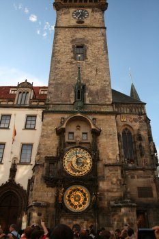 The astronomical clock inside old city square. Image by jay8085 @ flickr