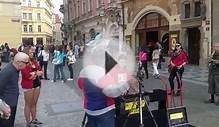 Views and Sounds from Old City Center , Prague , Czech